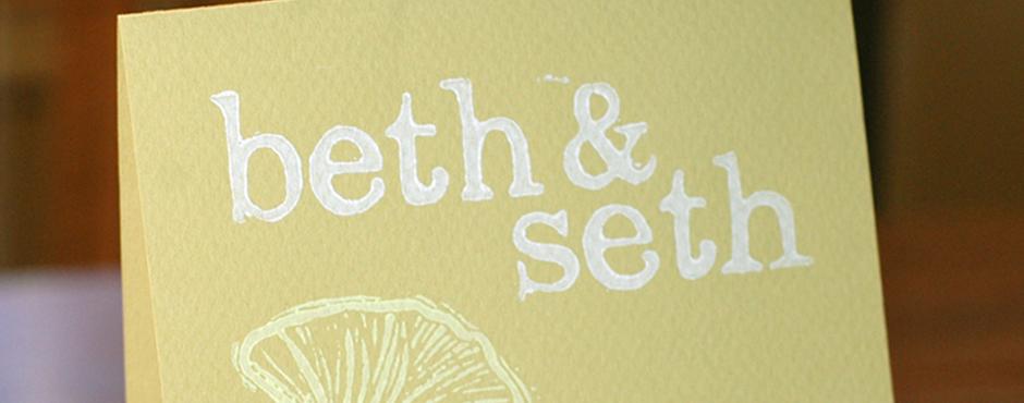 Beth & Seth's Wedding