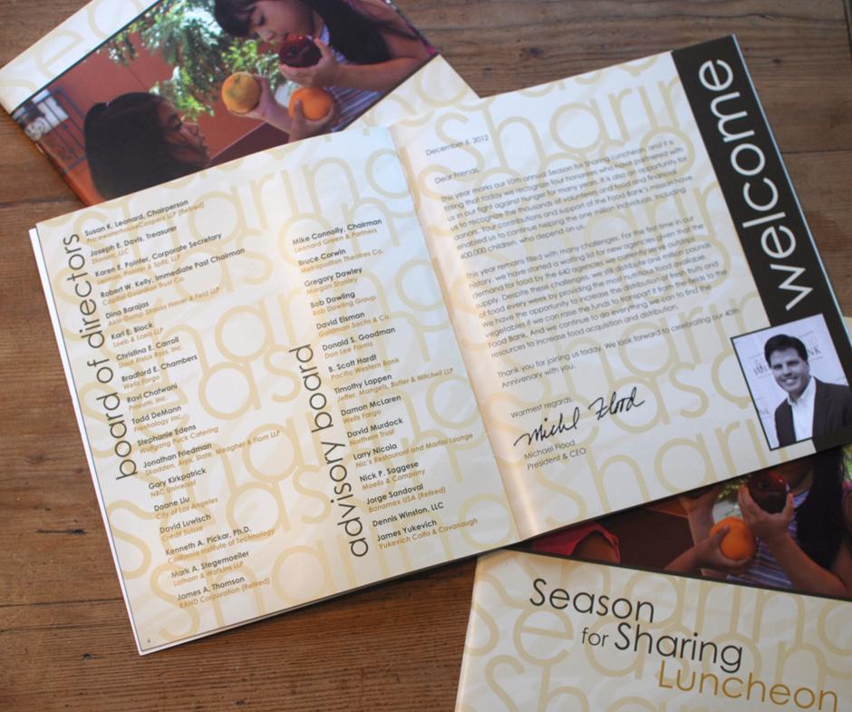 Los Angeles Regional Food Bank - Season for Sharing 2012