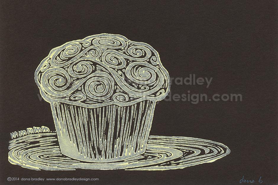 Cupcake - Lemon Chocolate