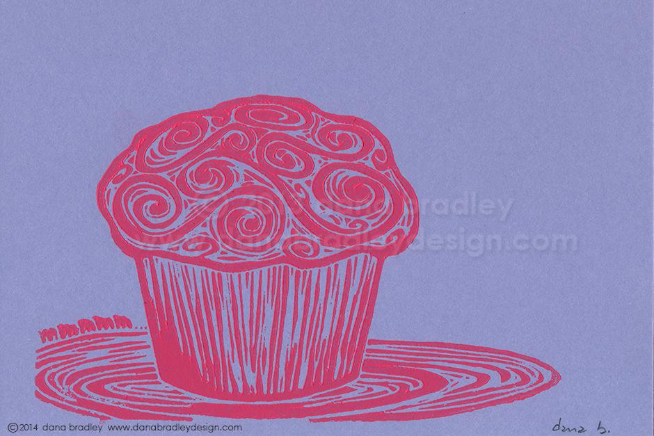 Cupcake - Strawberry/Blueberry